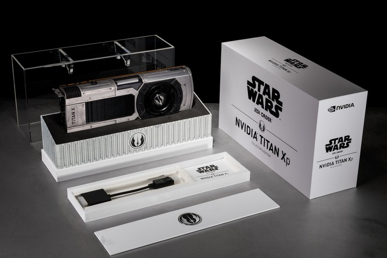 Titan Xp Collectors Edition доступна в версиях Jedi Order и Galactic Empire