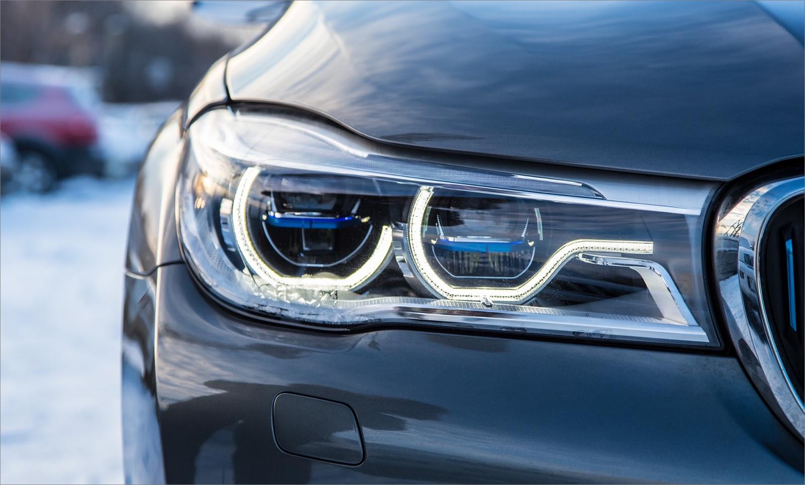 Интересные фишки BMW 7 серии - 23