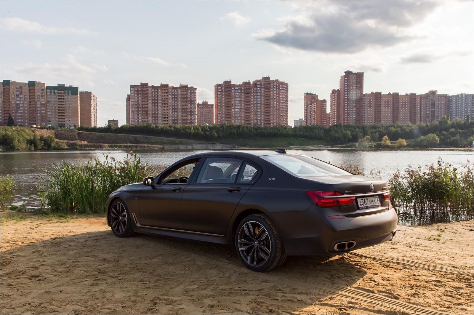 Интересные фишки BMW 7 серии - 51