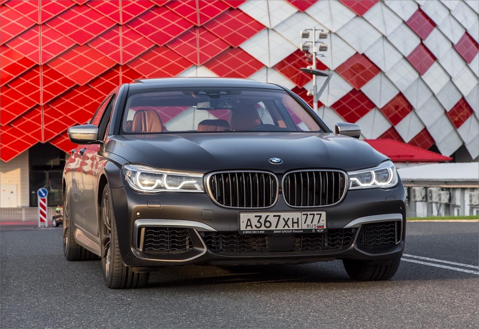 Интересные фишки BMW 7 серии - 53