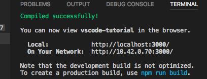Отладка React-приложений в VS Code - 7