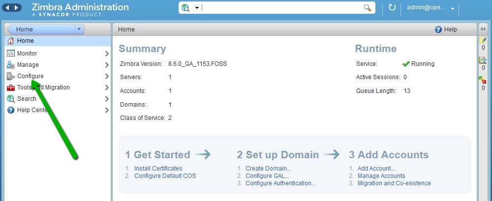 Установка SSL-сертификата на Zimbra - 2