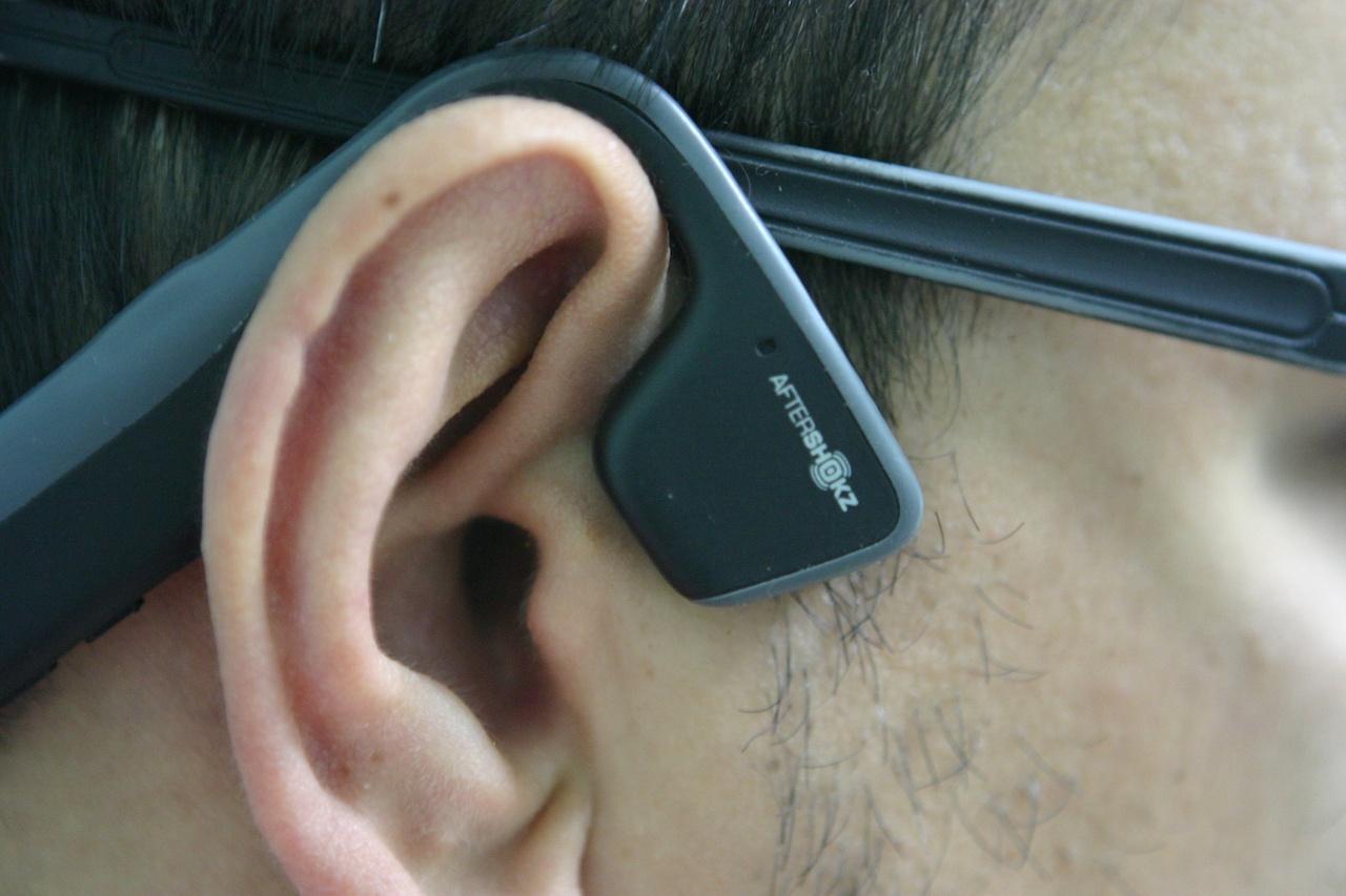 Утечка звука в наушниках с костной проводимостью на примере Aftershokz Trekz Titanium - 15