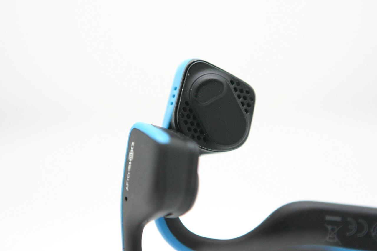 Утечка звука в наушниках с костной проводимостью на примере Aftershokz Trekz Titanium - 7