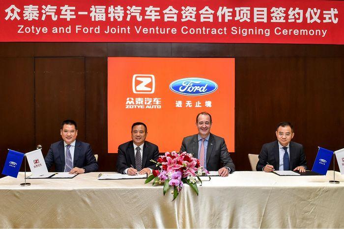 В Китае начнется выпуск электромобилей Ford Zotye