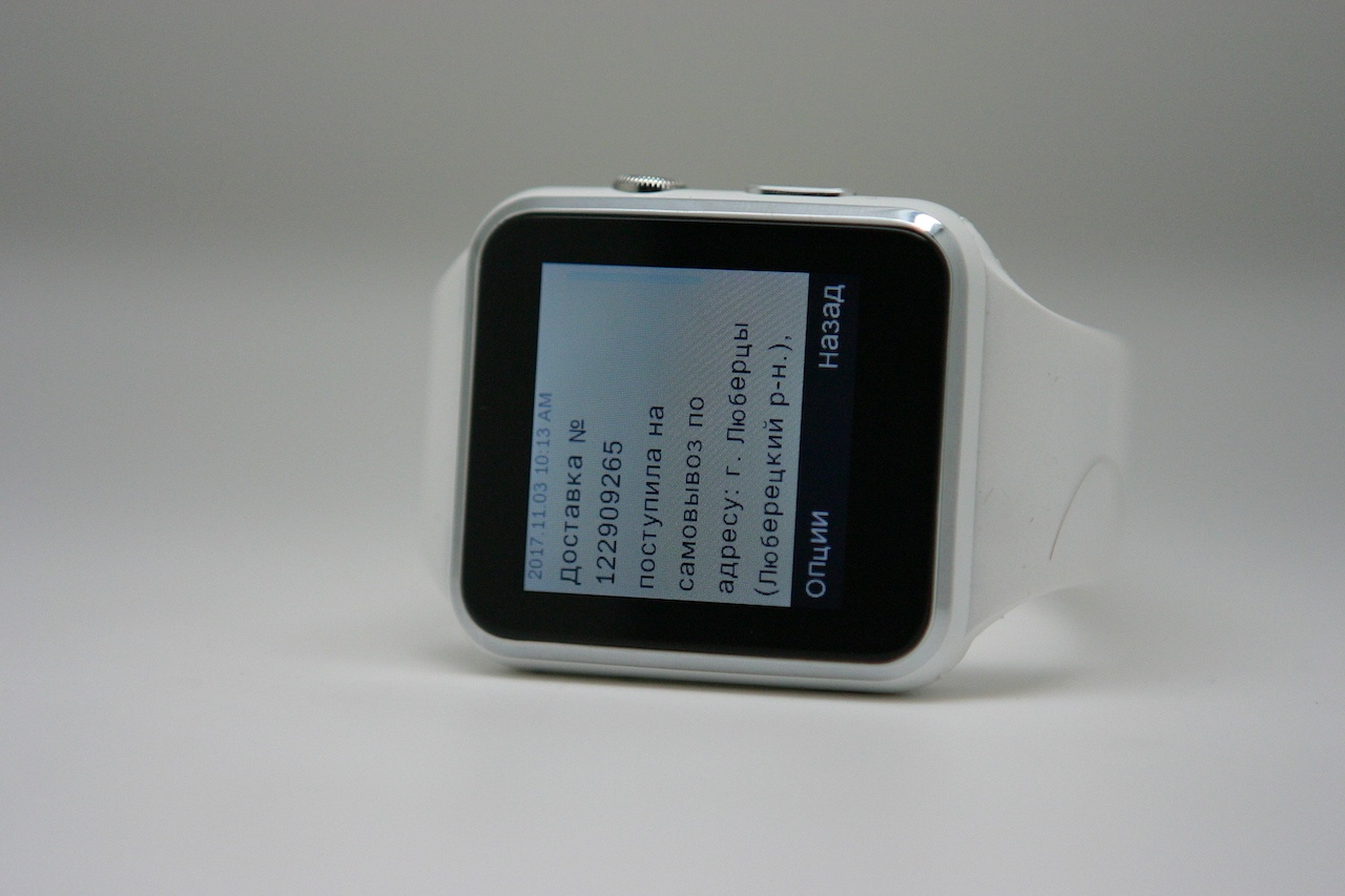 «Apple Watch» с Aliexpress. Неплохие часы с сим-картой - 4