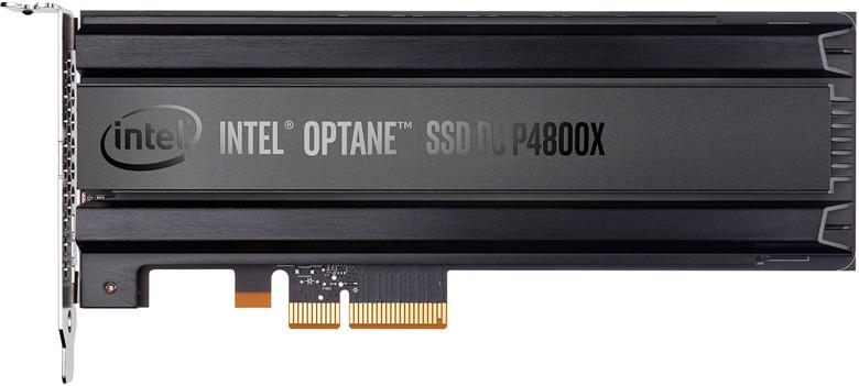 Ранее накопители Optane SSD DC P4800X были доступны объемом 375 ГБ