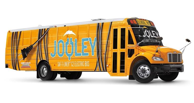 В максимальной конфигурации электробус Jouley способен перевозить 81 ребенка