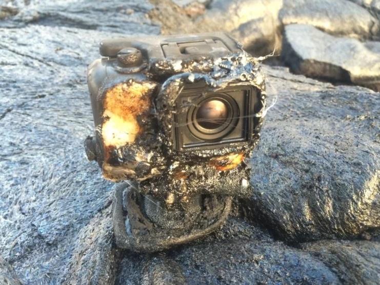 Камеры GoPro могут выжить в лаве. Если повезёт