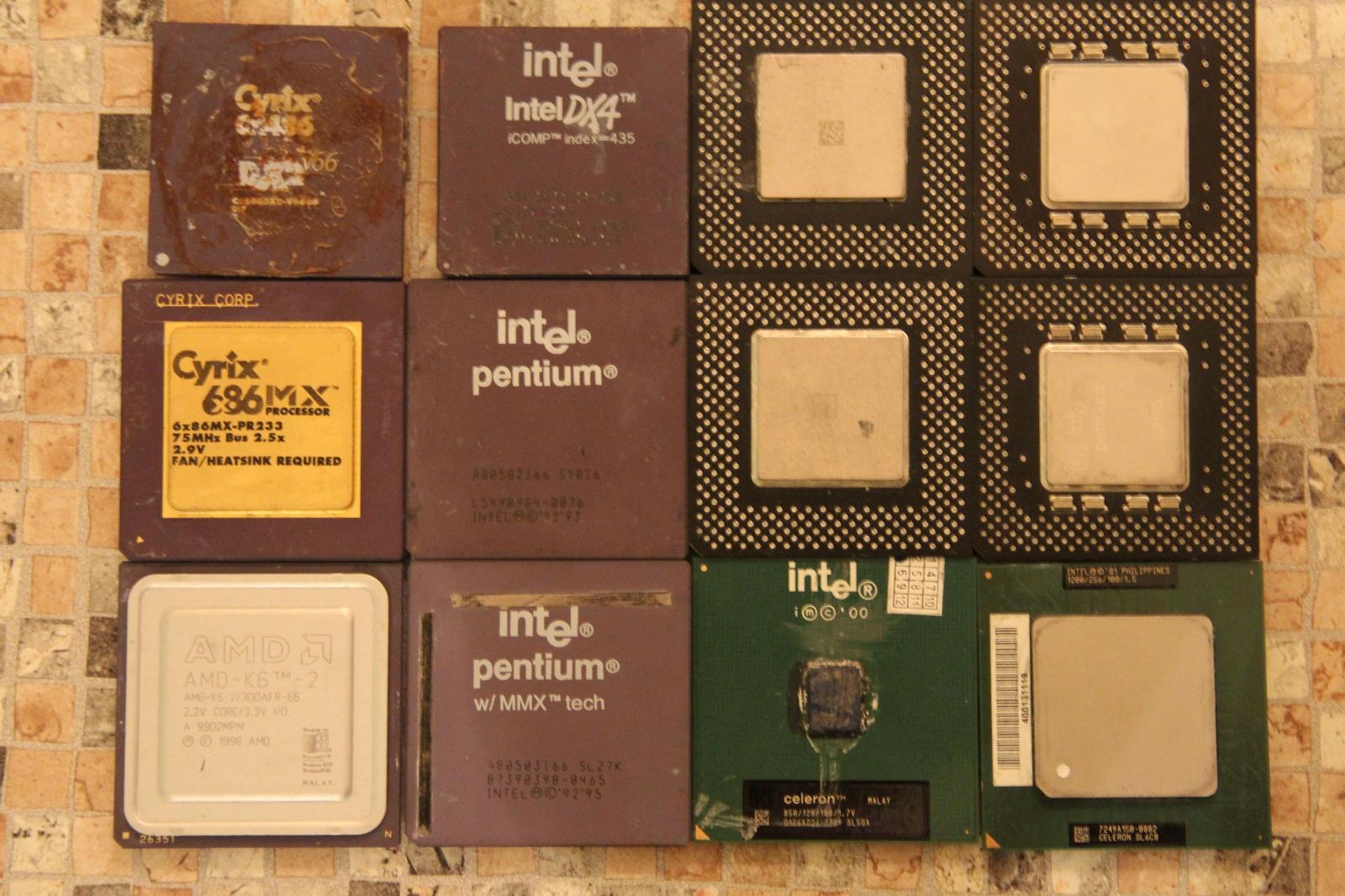 Самосборный компьютер на базе 486 - 2