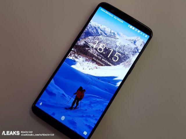 Большая утечка содержит фотографии и все характеристики смартфона Oneplus 5T