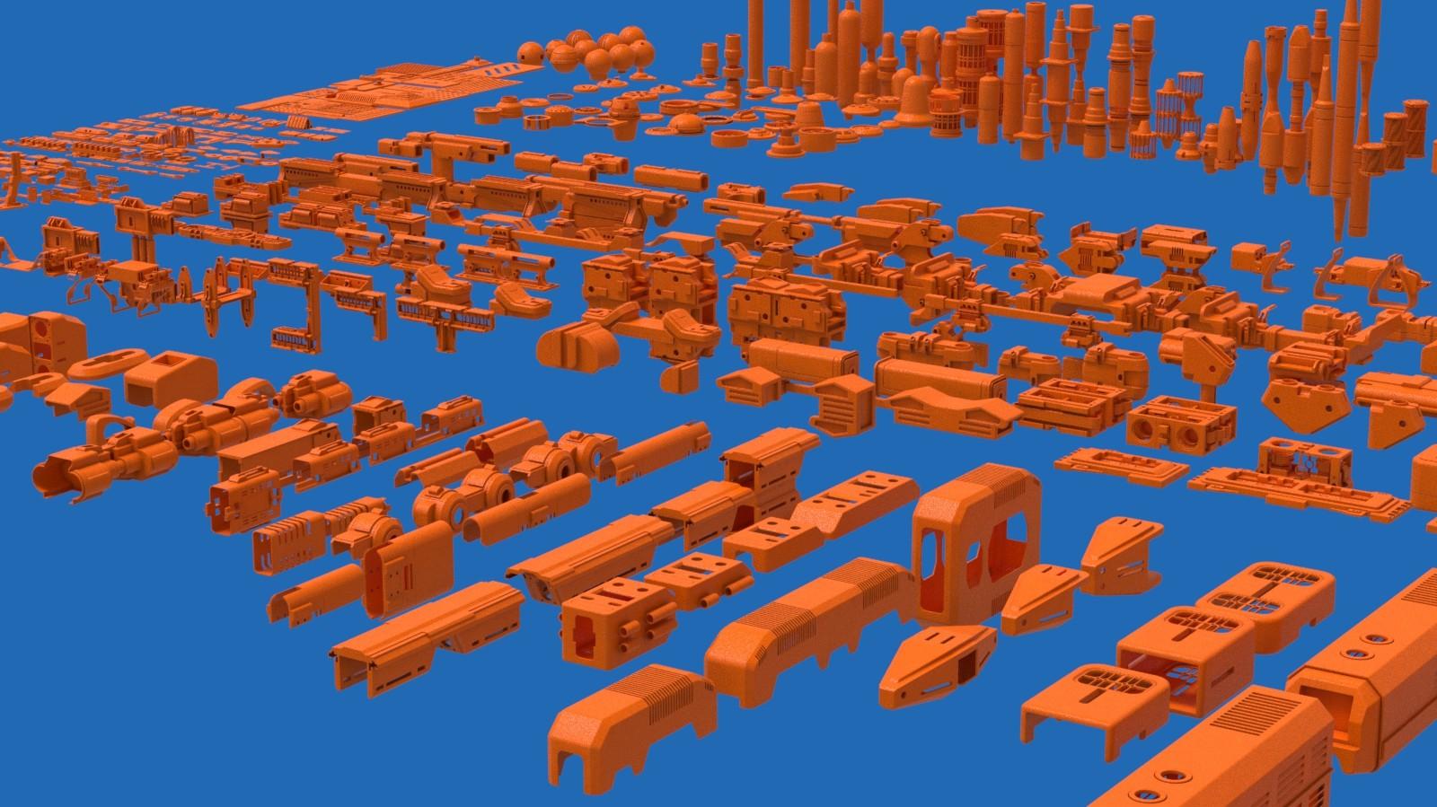 Создание концепт-артов в 3D - 10