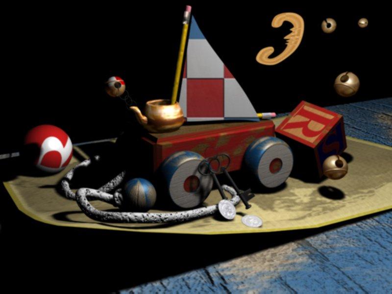 Создание концепт-артов в 3D - 2