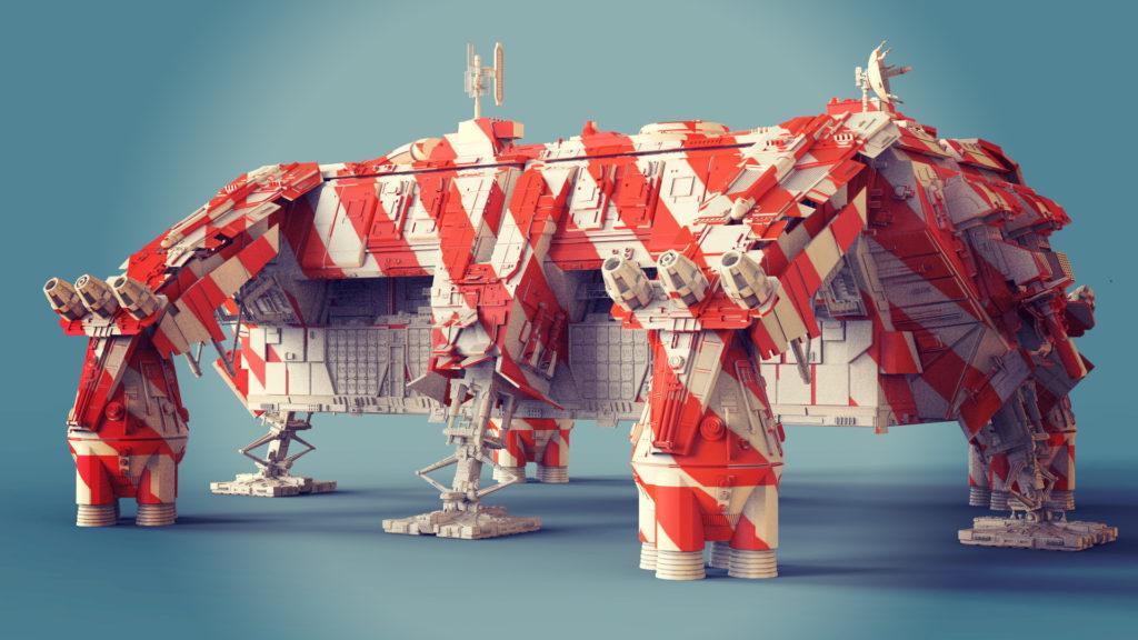 Создание концепт-артов в 3D - 26
