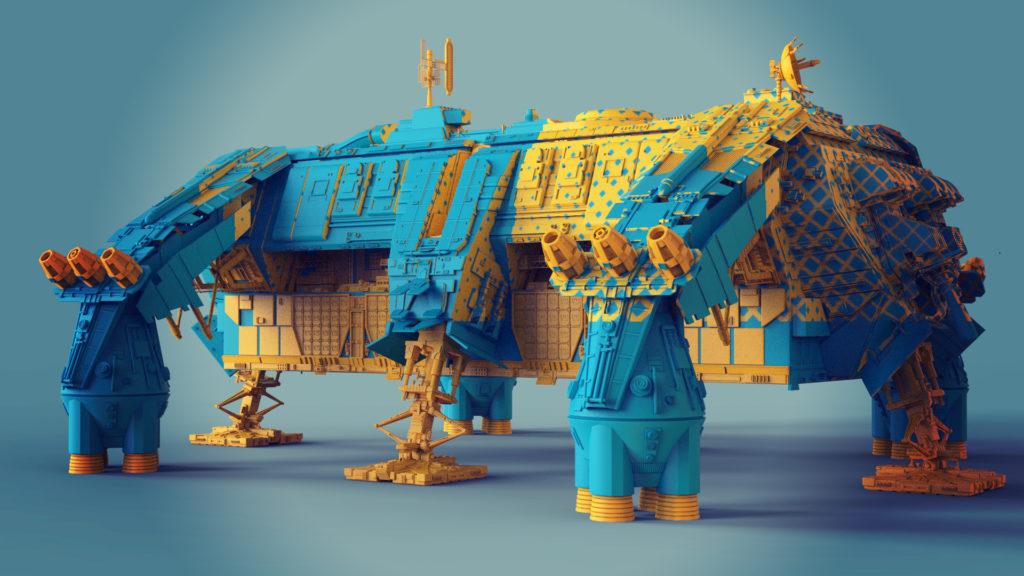 Создание концепт-артов в 3D - 29