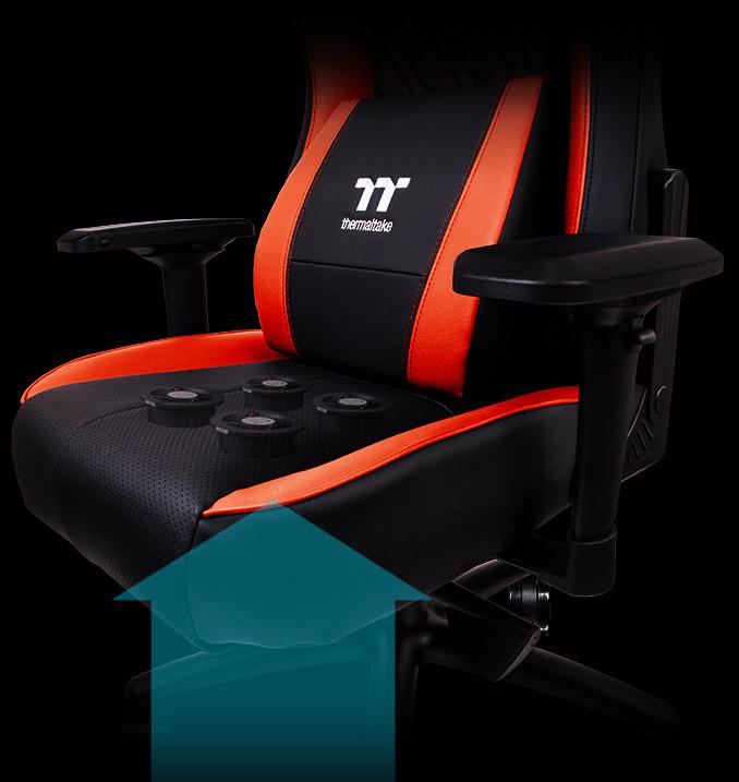 Thermaltake выпускает кресло для тех, у кого «подгорает»