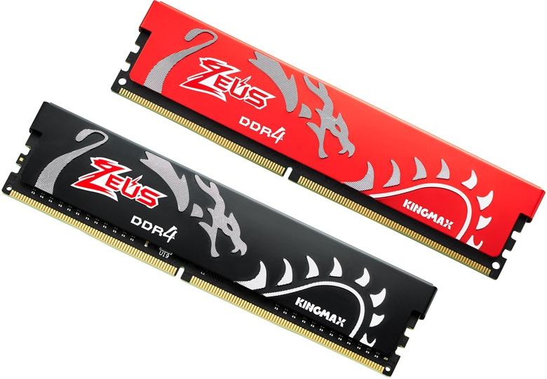В оформлении модулей памяти Kingmax Zeus Dragon использовано изображение дракона