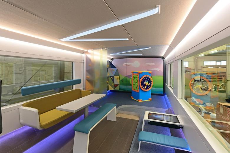 Ideenzug — представление о немецких пассажирских поездах будущего