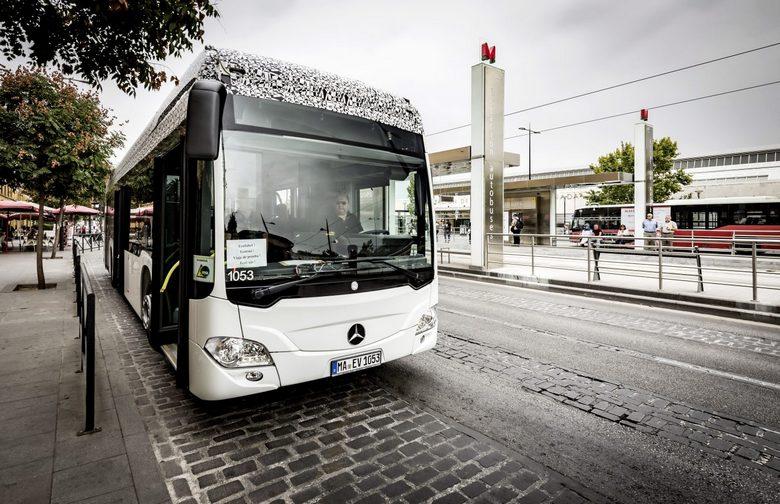 Mercedes-Benz готовит электрическую версию автобуса Citaro