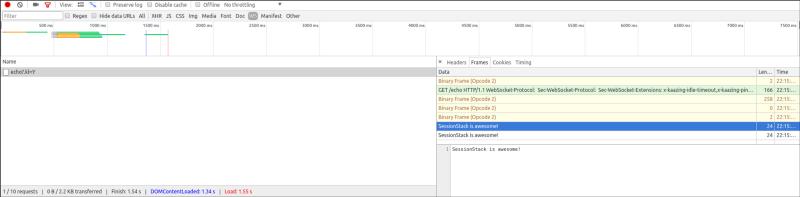 Как работает JS: WebSocket и HTTP-2+SSE. Что выбрать? - 4