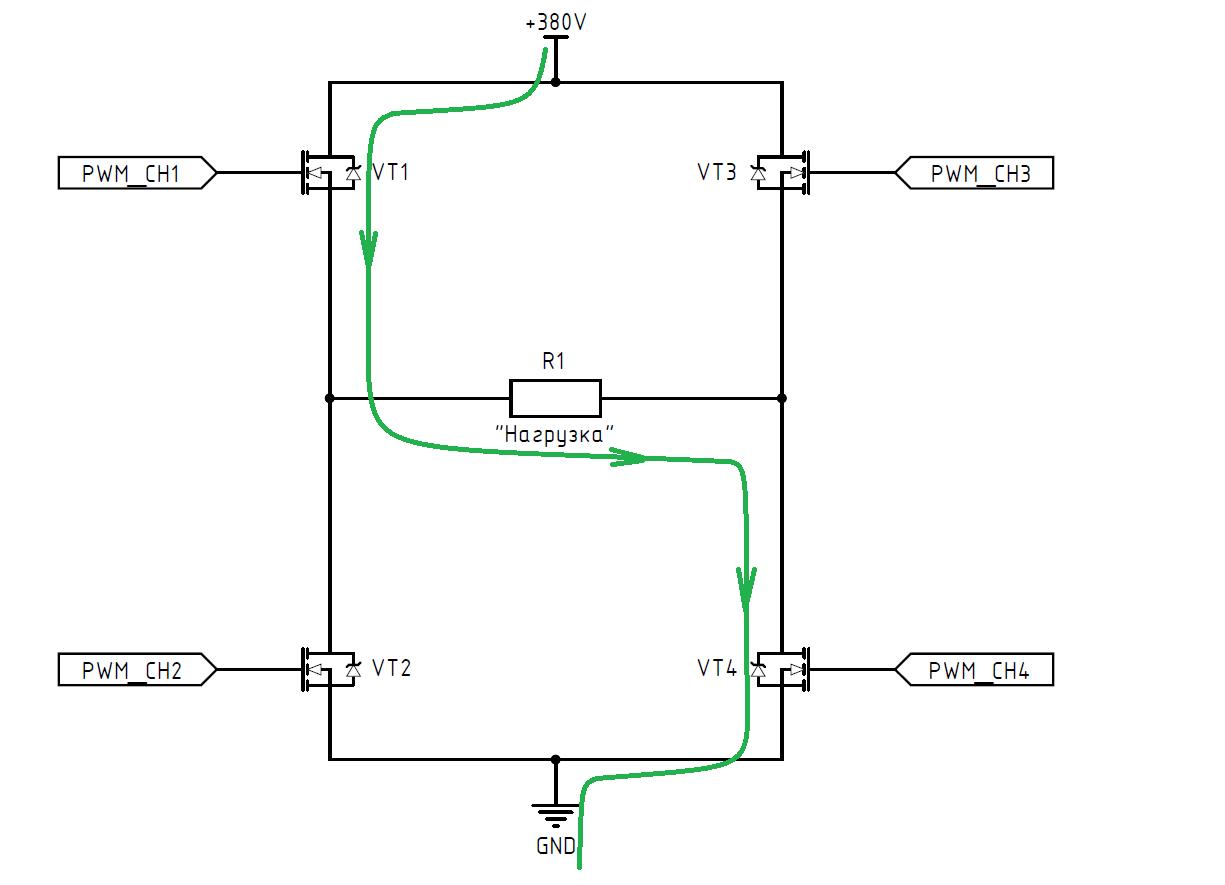 DC-AC инвертор: принцип работы, схемотехника, встроенное ПО - 4