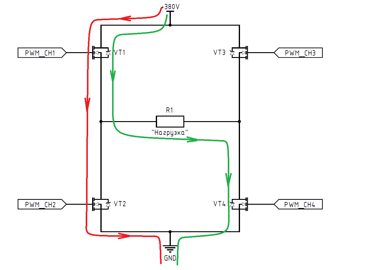 DC-AC инвертор: принцип работы, схемотехника, встроенное ПО - 5