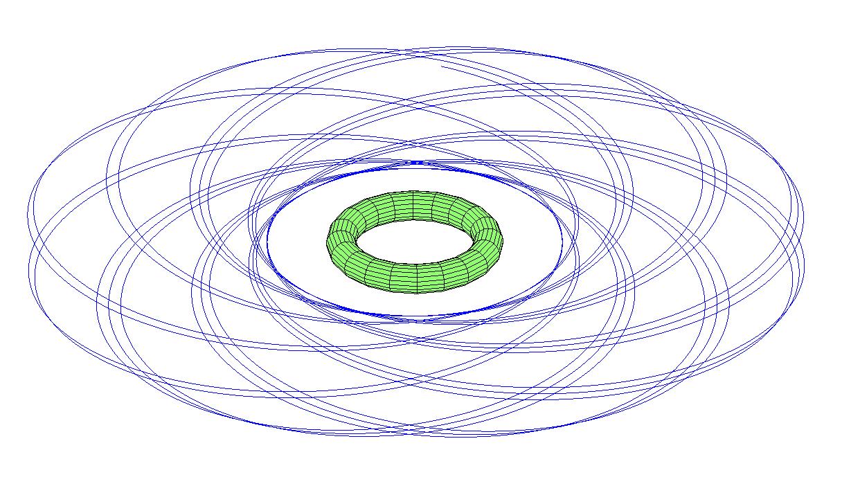 Может ли существовать тороидальная планета? - 14