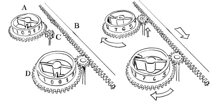 Паровой компьютер или разностная машина Бэббиджа 1840 года - 11