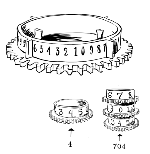 Паровой компьютер или разностная машина Бэббиджа 1840 года - 6