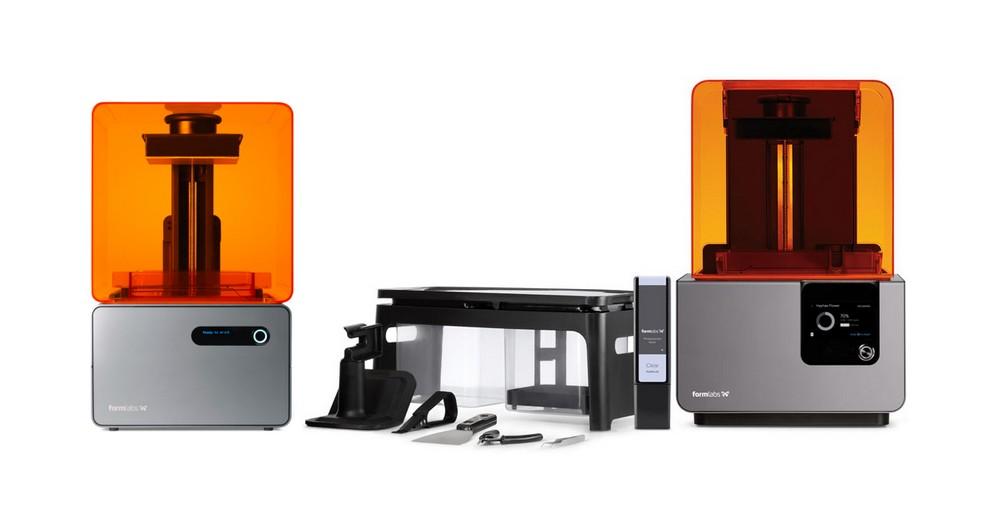 Таблица испытаний фотополимеров разных производителей с 3D-принтерами Formlabs - 2