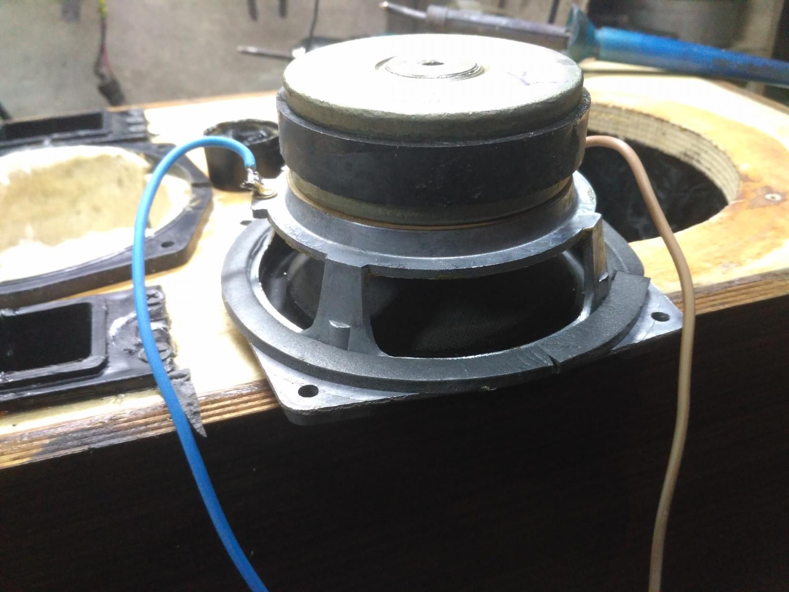 Восстановление и модернизация колонок Вега 50АС-106 - 8
