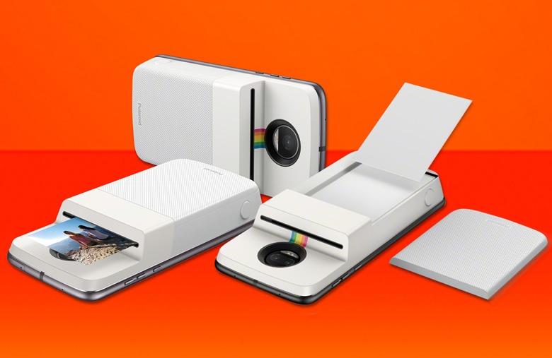 Цену Polaroid Insta-Share Moto Mod производитель не называет