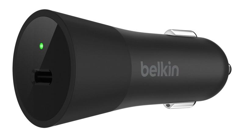 Автомобильное зарядное устройство Belkin для устройств Apple характеризуется мощностью 36 Вт