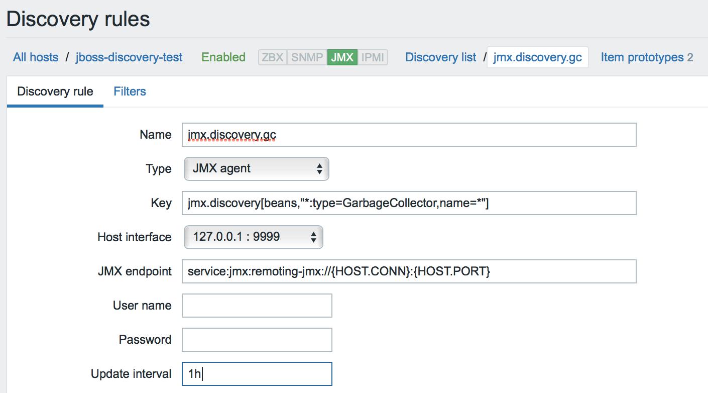 Новые возможности мониторинга Java приложений в Zabbix 3.4 - 15