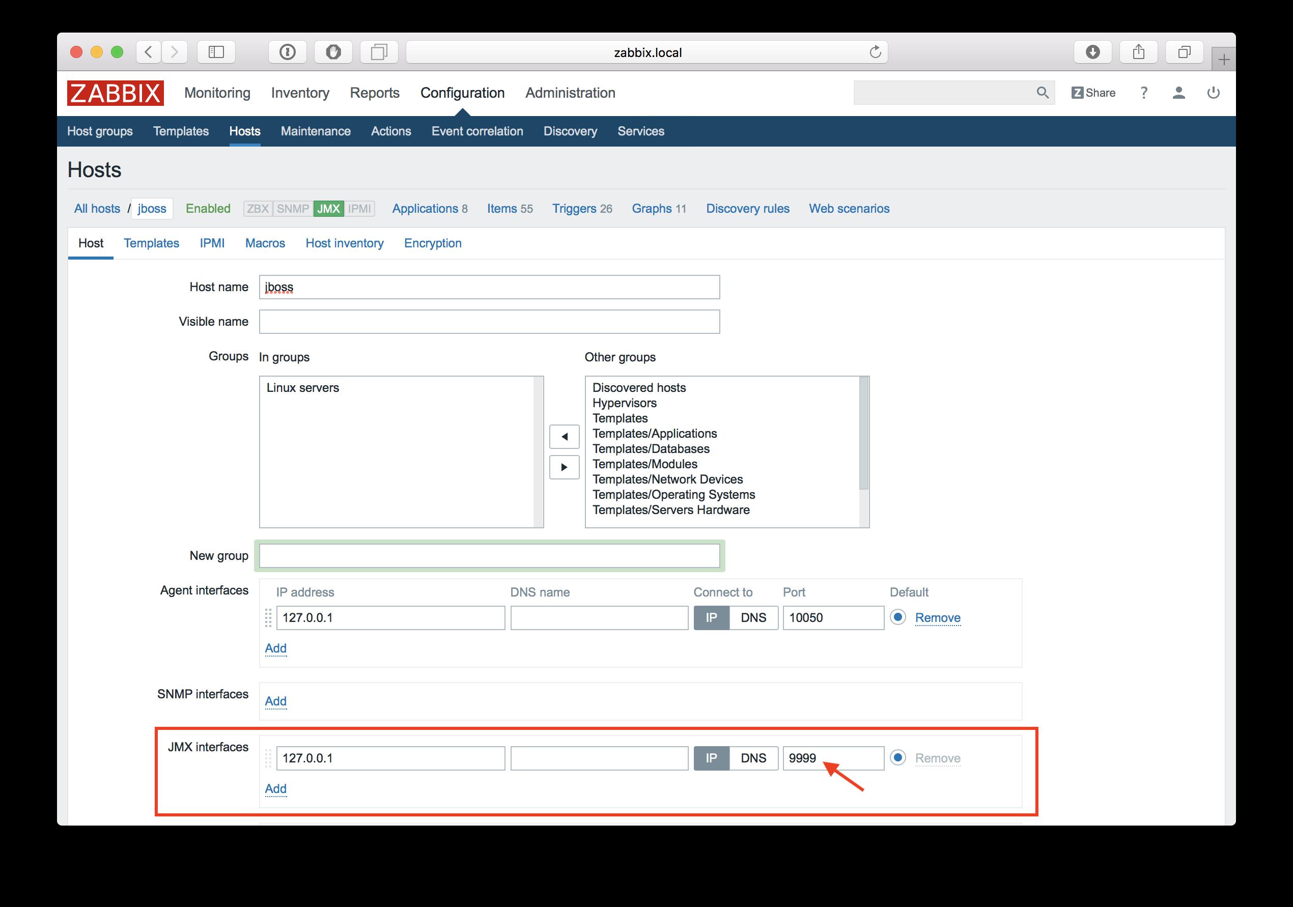 Новые возможности мониторинга Java приложений в Zabbix 3.4 - 6