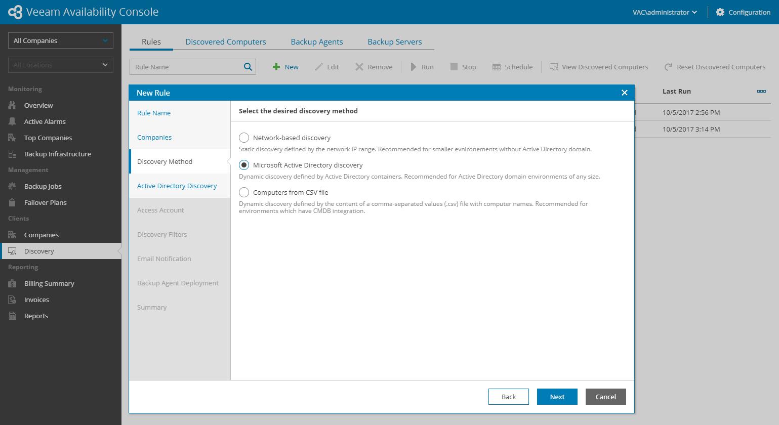 Новый бесплатный продукт Veeam Availability Console для сервис-провайдеров и крупных компаний - 6