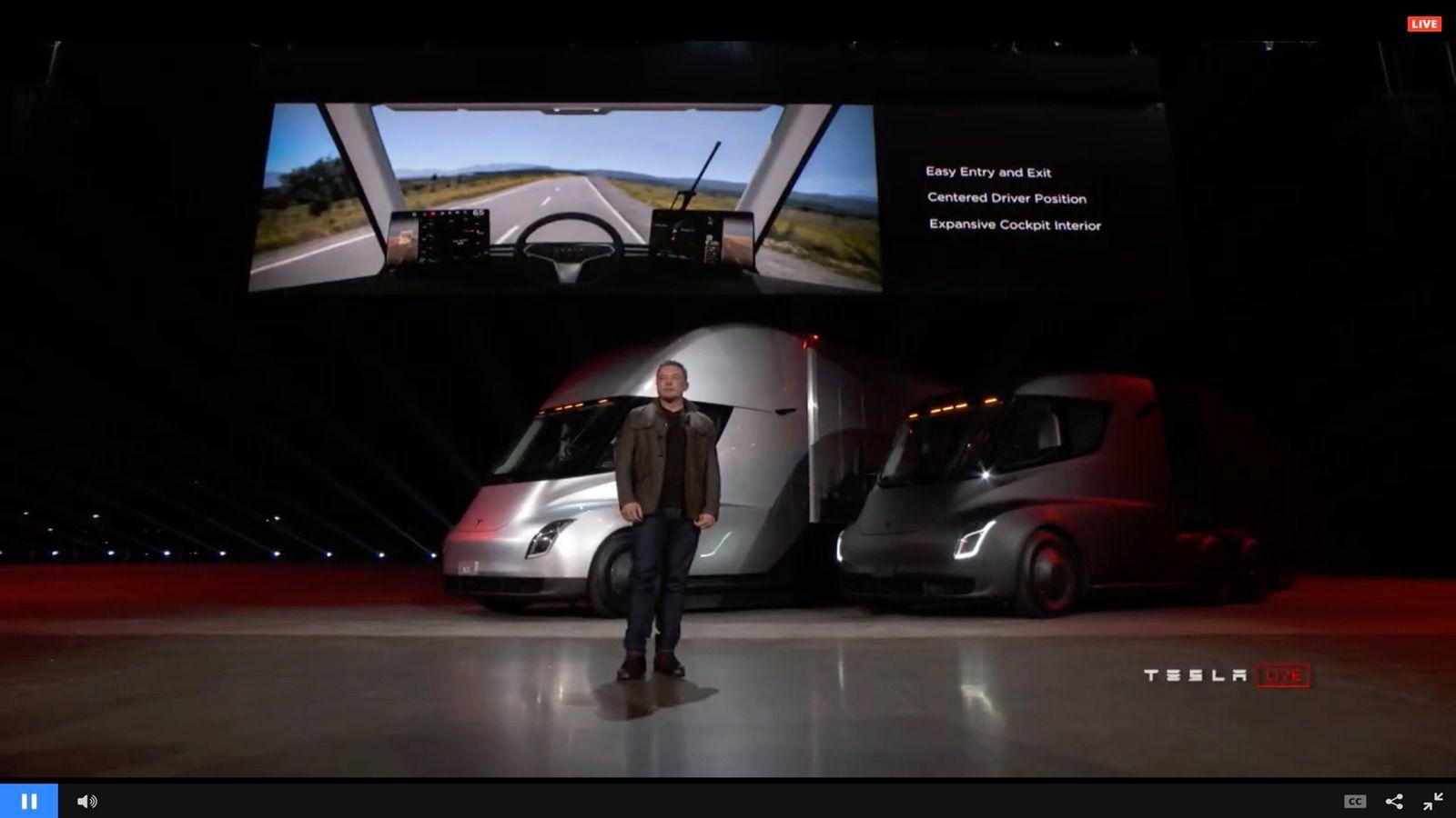 Tesla Semi и Tesla Roadster 2 - 4