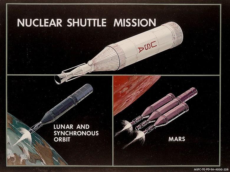 Ядерные космические корабли могут стать реальностью