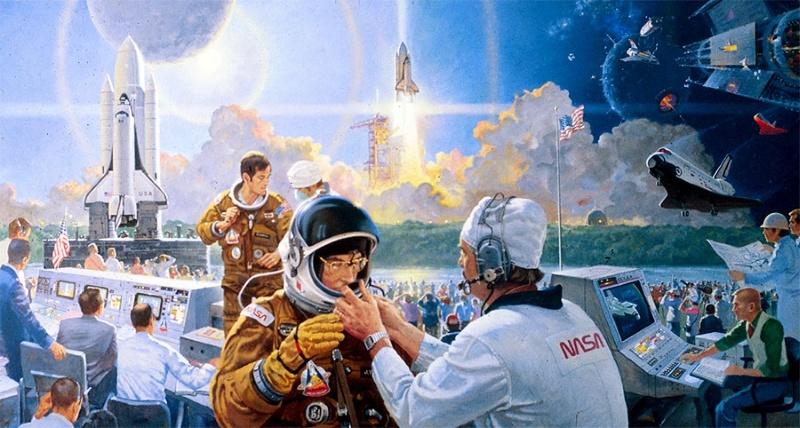 Космос и холст - 11