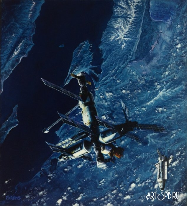 Космос и холст - 18
