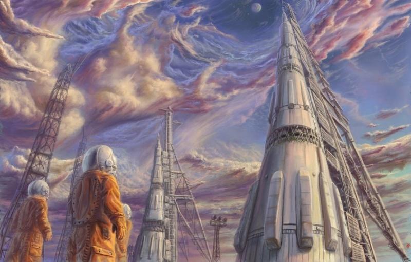 Космос и холст - 19