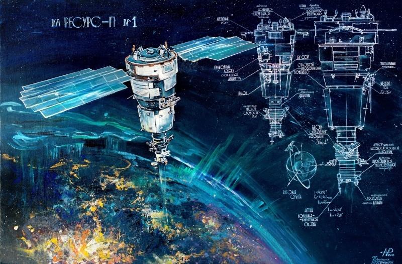 Космос и холст - 23