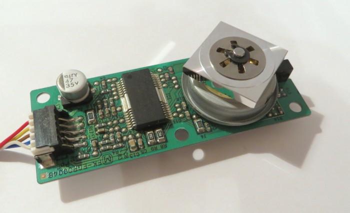 Самодельный текстовый лазерный проектор - 2