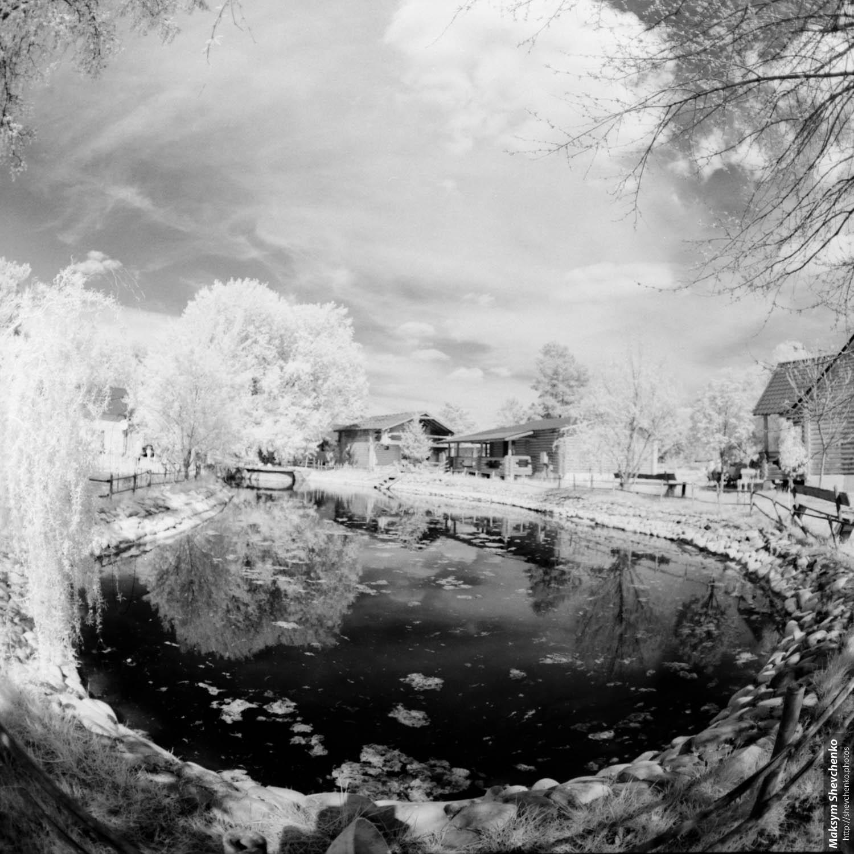 Среднеформатная пленочная фотография в близком инфракрасном спектре - 29