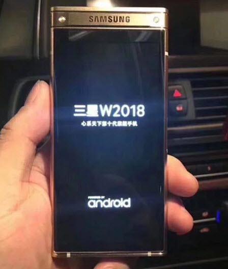 Samsung SM-W2018 может стать первым смартфоном с камерой, которая имеет диафрагму F/1,5