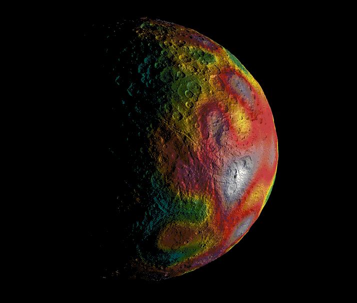 На карликовой планете Церера в прошлом мог существовать океан - 3