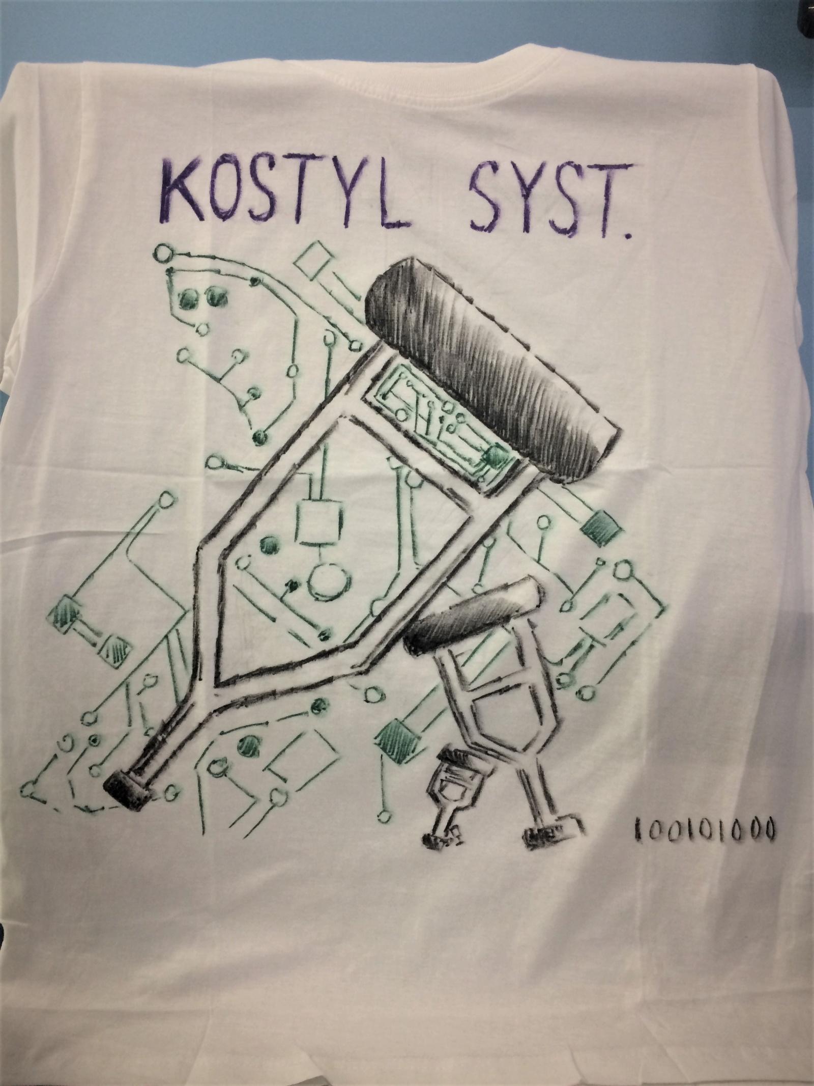 Футболка kostyl system