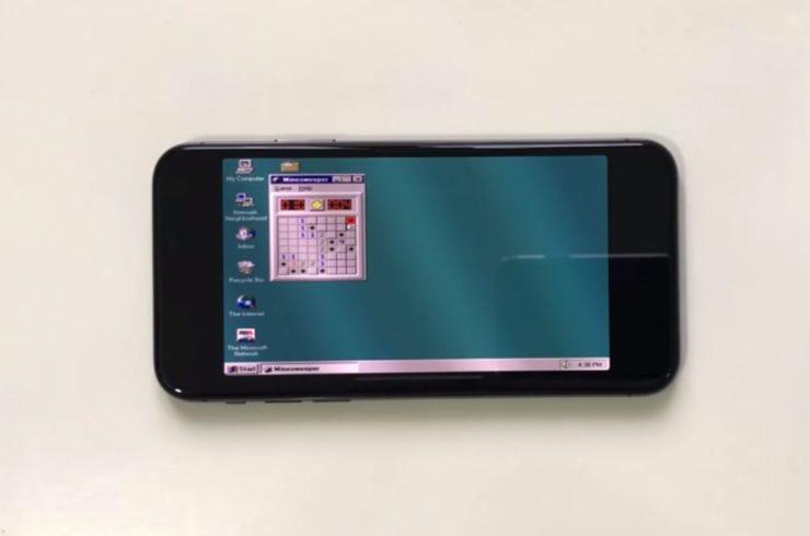 Смартфон Apple iPhone X превосходит персональные компьютеры, для которых в свое время создавалась Windows 95