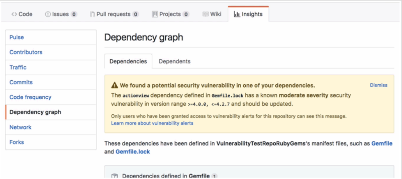 GitHub предупредит разработчиков об уязвимостях в их проектах - 1