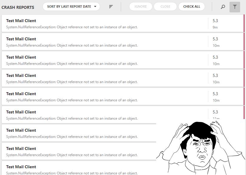 Hello Logify, или мониторим ошибки на установленных приложениях - 2